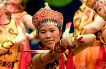 Dansuppvisning ShenZhen