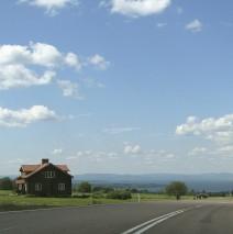 Söderås med utsikt över Siljan i Dalarna
