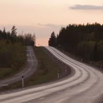 Sommarväg i Dalarna